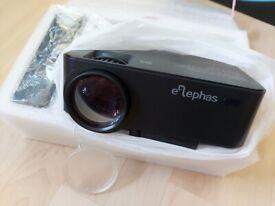 ELEPHAS 1500 Lumens LED Multimedia Mini Video Projector Portable