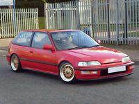 1991 EE9 Honda Civic 1.6i VT – VTEC, VTI, TYPE R, SIR, EF9, CRX, E30