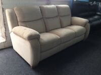DFS New / Ex Display - Sadera 3 Seater Sofa High back