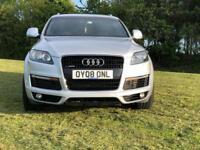 Audi Q7 V8 4.2 diesel S line 7 seats!