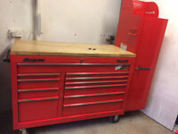 Snap On Classic 78 tool box and end cab, roll cab