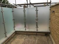 10mm toughened glass panels