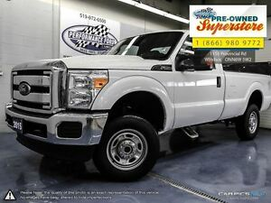 2015 Ford F-250 >>>4x4 single cab 6.2L<<<