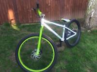 Lovely Voodoo Shango single speed jump bike with disc brakes