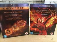 Hunger Games Blu Ray: all 4 movies for £5.