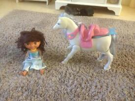 Dora explorer doll and Pegasus