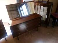 Dressing Table with matching Chest of 4 drawers