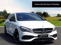Mercedes-Benz CLA CLA 220 D AMG LINE (white) 2016-09-12