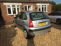 Citroen C3 1.4 Hdi Desire 03 reg £20 tax Long MOT 65 mpg new clutch