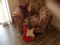 Fender squire SE guitar