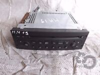 Peugeot 307 (2001-2009) RADIO CD Audio Stereo Player ref.mm19