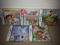 JOBLOT: DS Dora the Explorer & Diego Games