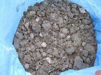 CLAY RICH SOIL FROM BACK GARDEN , HARLOW CM18
