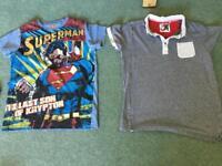 2 T shirts