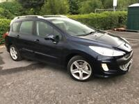 2010 PEUGEOT 308 1.6 HDI 110 SW SPORT CHEAP ALLOYS PAN ROOF B/TOOTH CRUISE CONTROL FINANCE AVAILABLE