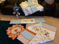 Jungle dunelm babys bedroom bundle