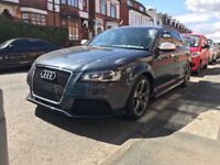 Audi A3 black edition 2012 plate full rs3 conversion damaged swap px