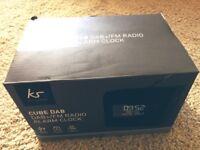 Kitsound DAB Radio Alarm Clock