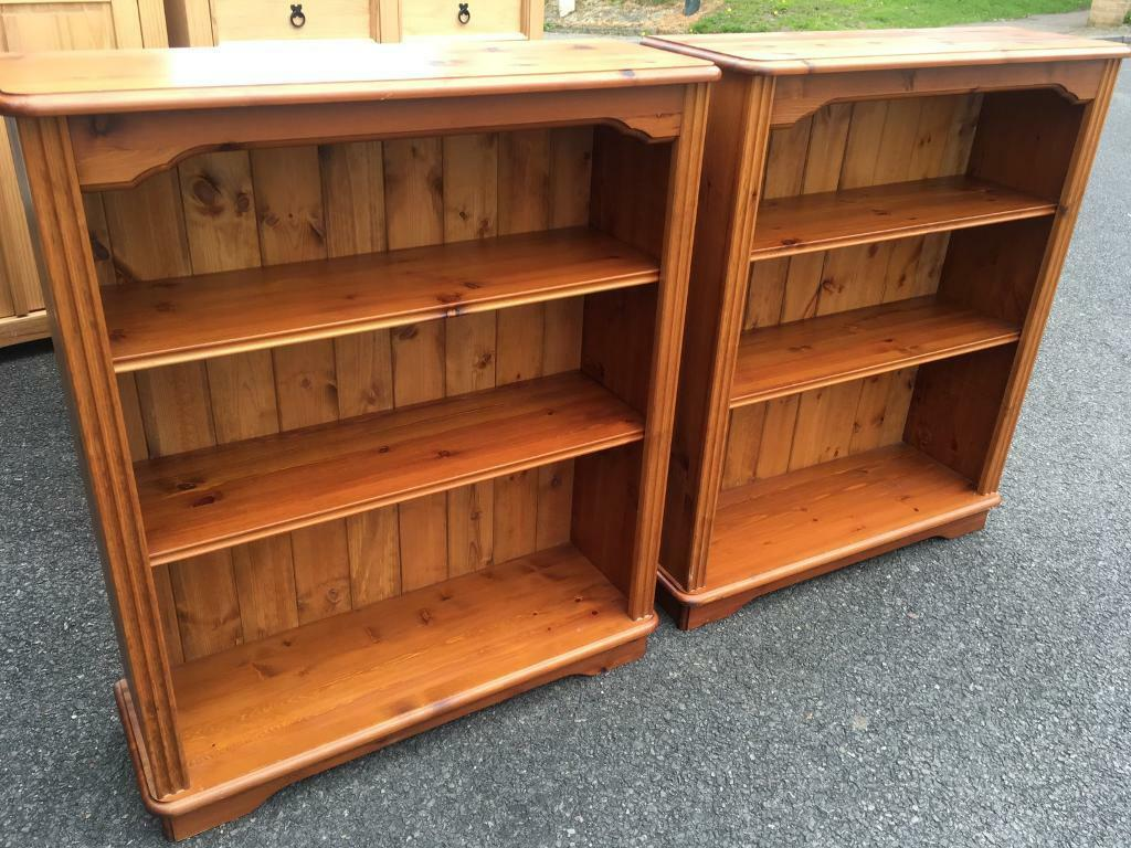 A pair of solid pine bookcases with adjustable height shelves. I can deliverin Bournemouth, DorsetGumtree - A pair of solid pine bookcases with adjustable height shelves, both in very good condition . I can deliver if local to Bournemouth
