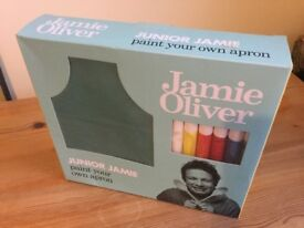 children's Jamie Oliver Design Your Own Apron set