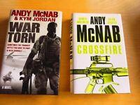 Andy McNab Novels (Hardback)