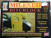 HALF PRICE! BRAND NEW MILENCO WINTERHOFF WS 3000 HITCHLOCK FOR CARAVAN OR TRAILER.