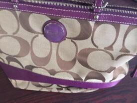 Genuine coach bag