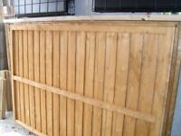 Fence Panels 6 foot wide x 4 foot high
