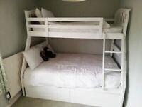 Double / single bunk bed set