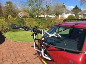 Bike Carrier. Car cycle carrier, up to 3 bikes.