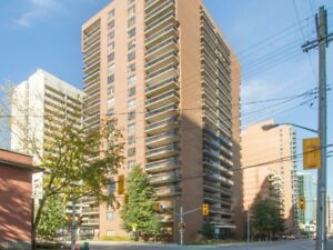 18th Floor 2Bed/1Bath Condo - 475 Laurier Ave ($1,500)