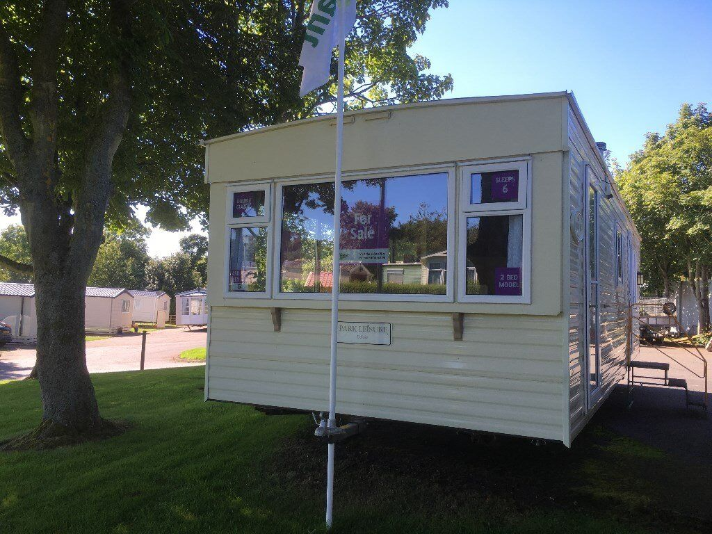 A lovely 2 bedroom family caravan, on a really nice pitch at Coldingham Bay Leisure Park