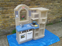 Little Tikes tykes Inside Outside Kitchen BBQ ##FREE LOCAL DELIVERY##