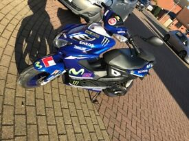 Yamaha aerox. Rossi replica. Great little bike.