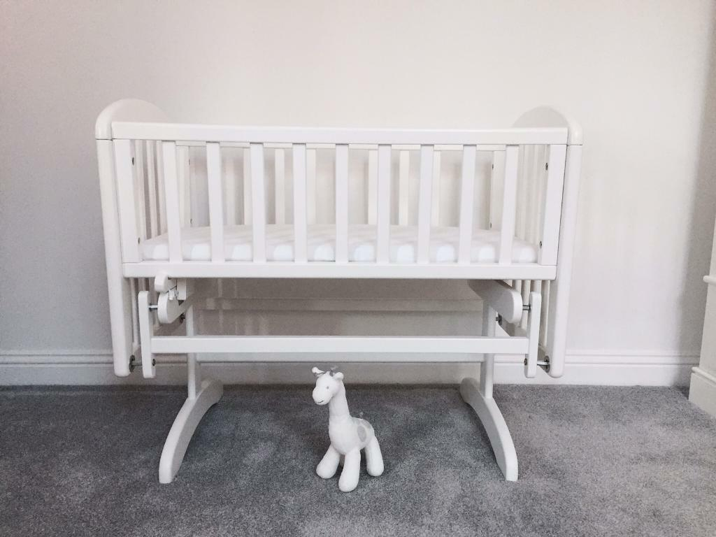 Crib for sale in bangalore - Crib For Sale Gumtree John Lewis Anna Glider Crib White