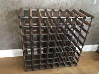 Wine Rack - 72 Bottles - Dark Brown