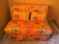 Sofa Bed / Futon, small double, excellent condition, £70