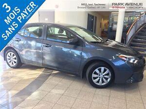 2015 Toyota Corolla BLUETOOTH, BACK UP CAM, SIEGE CHAUFFANTS, GR