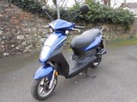 2012 Sym Symply 50 moped, long MOT