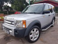 Land Rover DISCOVERY 3 2.7 TD V6 S 5dr,JUST FULLY SERVICED,HPI CLEAR, FULLY BLACK LEATHER