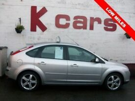 LOW MILES 2007 FORD FOCUS 1.6 ZETEC CLIMATE