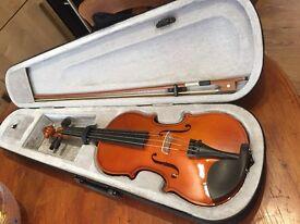 Violin nearly new from argos