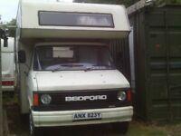 1097e4e9294534 bedford cf mk 2 camper van spares or repair no mot