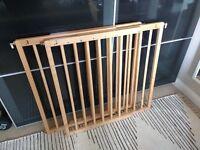 BabyDan pair of wooden stair gates