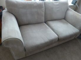 Sofa - 2 seater - Used but good condition - with fire safety tags