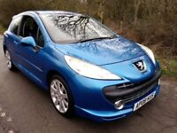 Peugeot 207 XS Sport Turbo 3 door 2 lady owners, New Mot, Full service history, PX to clear, Bargain