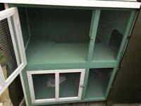 Rabbit hutch and cover for sale