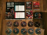 Beachbody insanity max 30 fitness discs complete set