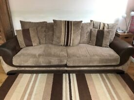Two 4 seater sofas for sale