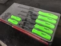 Snap On screw drivers brand new